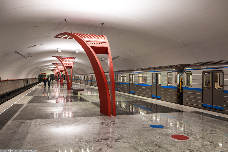 В этом году открылось в Москве три новые станции метро.  В следующем году обещают открыть еще 7, в том числе наконец...