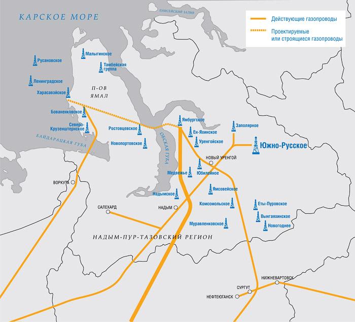 В настоящий момент на полуострове Ямал компании принадлежит 32 месторождения, суммарные запасы которых...